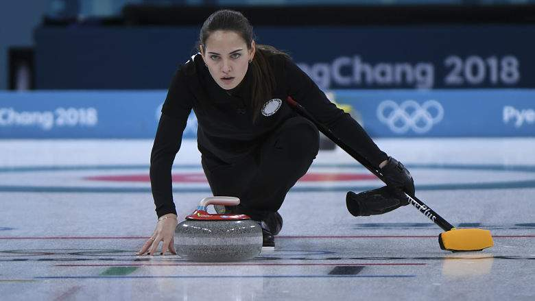 Russian Olympic Curler Anastasia Bryzgalova's Good Looks are Breaking the Internet
